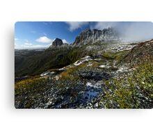 Cradle Mountain Postcard Canvas Print