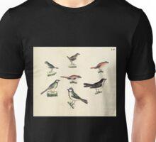 Naturgeschichte in Bildern mit erläuterndem Text E Strack 1820 Lief 2 Birds 064 Unisex T-Shirt