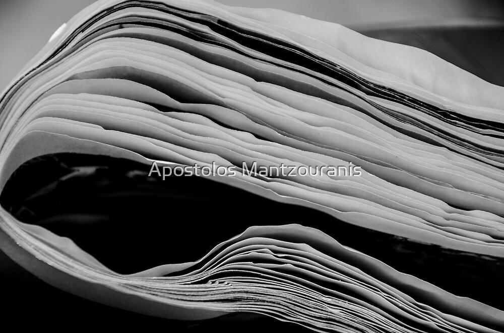 White Lines by Apostolos Mantzouranis