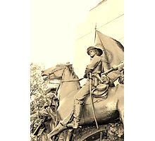 Gettysburg Monument Photographic Print