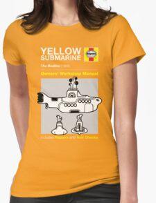 Haynes Manual - Yellow Submarine - T-shirt Womens Fitted T-Shirt