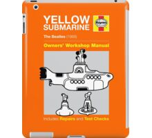 Haynes Manual - Yellow Submarine - T-shirt iPad Case/Skin