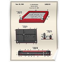 Etch-A-Sketch Patent Poster