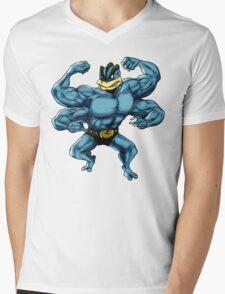 Machamp Mens V-Neck T-Shirt