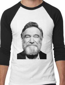 robin williams beard Men's Baseball ¾ T-Shirt
