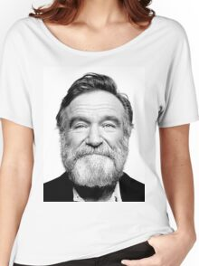 robin williams beard Women's Relaxed Fit T-Shirt