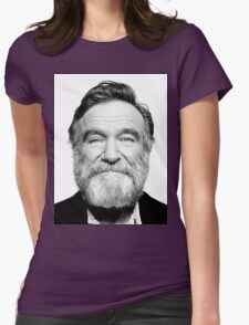 robin williams beard Womens T-Shirt