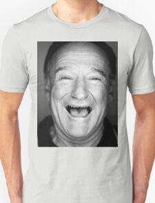 robin williams black and laugh Unisex T-Shirt