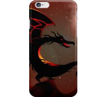 Dragon on a rock  iPhone Case/Skin