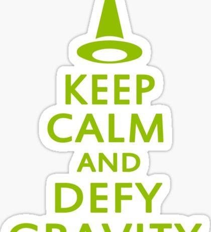 Defy Gravity. Wicked Witch. Sticker