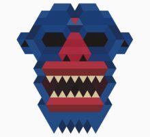 Blue Goblin Mask by mrjoejon