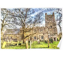 St Mary's Church Great Dunmow Poster