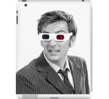 Doctor Who 3-D Glasses iPad Case/Skin