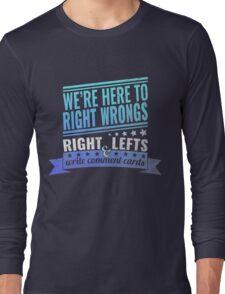 Critical Role: Vox Machina II (teal/blue) Long Sleeve T-Shirt