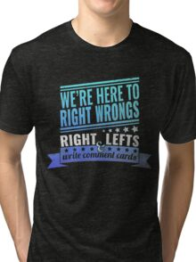 Critical Role: Vox Machina II (teal/blue) Tri-blend T-Shirt
