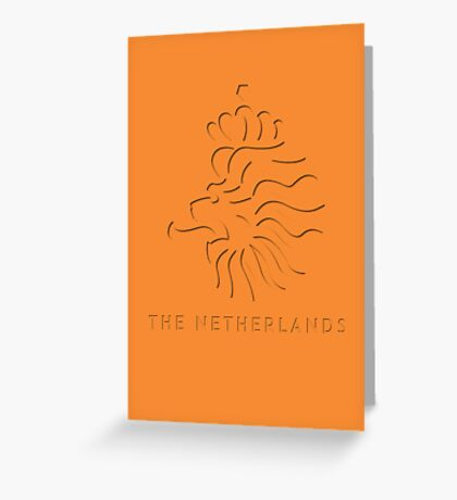 World Cup: Netherlands Greeting Card