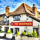 The Woodman Pub by DavidHornchurch