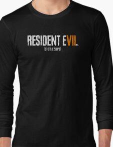Resident evil 7 Long Sleeve T-Shirt