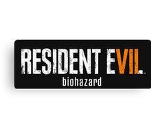 Resident evil 7 Canvas Print