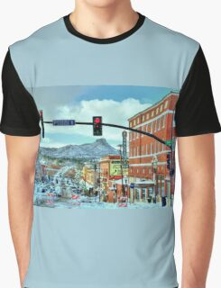 After A Snowstorm In Prescott Arizona  Graphic T-Shirt