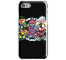Mutants Assemble  iPhone Case/Skin