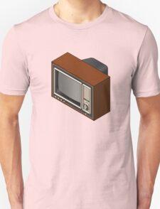 Retro Woodgrain TV T-Shirt