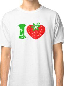 Strawberry Heart - Go Vegan Classic T-Shirt