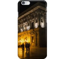 The magical Duomo Square in Ortygia, Syracuse, Sicily iPhone Case/Skin