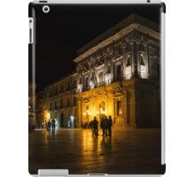 The magical Duomo Square in Ortygia, Syracuse, Sicily iPad Case/Skin