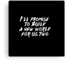 DJ Snake: Middle (Lyrics) Canvas Print