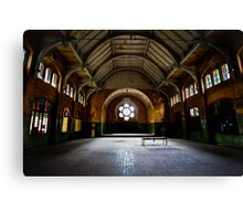 The great hall of the asylum Canvas Print