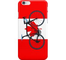 Bike Flag Canada (Big - Highlight) iPhone Case/Skin