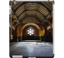 The great hall of the asylum iPad Case/Skin