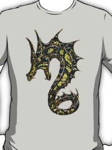 Dragon, Tattoo Style, Fantasy T-Shirt