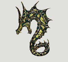 Dragon, Tattoo Style, Fantasy Unisex T-Shirt