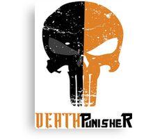 Death Punisher Canvas Print