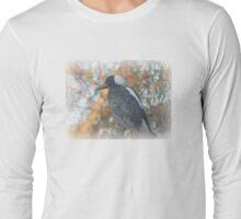 Autumn Magpie Long Sleeve T-Shirt