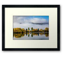 Autumn Mountains Framed Print