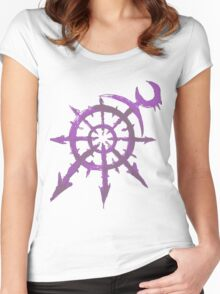 Mark of Chaos - Slaanesh Women's Fitted Scoop T-Shirt