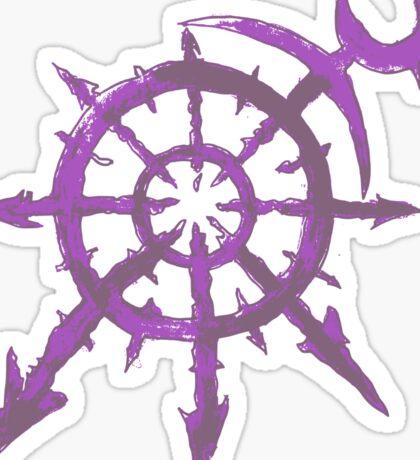 Mark of Chaos - Slaanesh Sticker