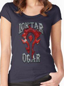 Lok'tar Ogar Women's Fitted Scoop T-Shirt