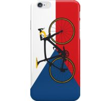 Bike Flag Czech Republic (Big - Highlight) iPhone Case/Skin
