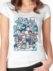 Awesomeness overloaded Women's Fitted Scoop T-Shirt