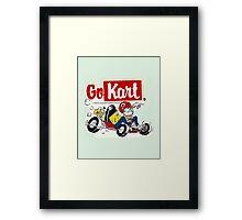 QVHK Go Kart Framed Print