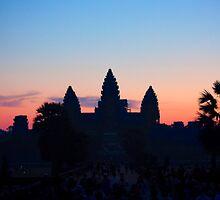 Angkor Wat Sunrise by Madeline Snow