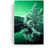 Infra-Red River Canvas Print