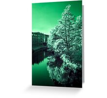 Infra-Red River Greeting Card