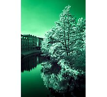 Infra-Red River Photographic Print