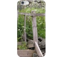 Wooden Staircase from the Sea iPhone Case/Skin