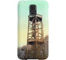 Observation tower in vivid colors | architectural photography Samsung Galaxy Case/Skin